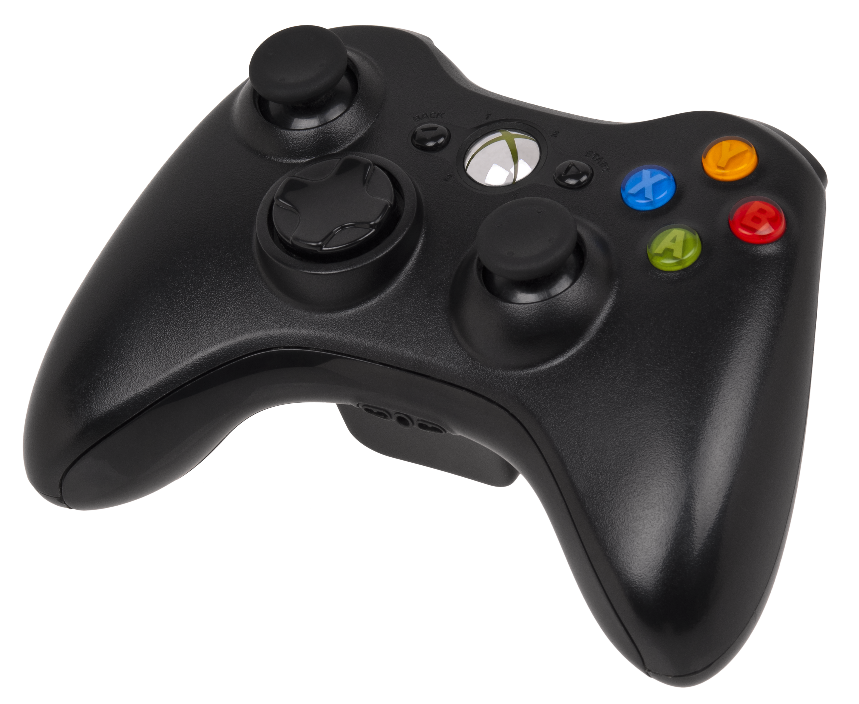 File:Xbox-360-S-Controller.png - Xbox 360 PNG