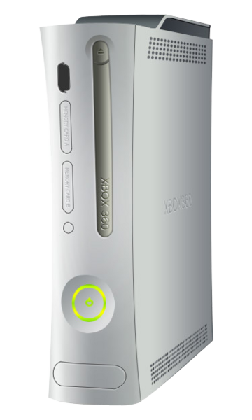 Xbox-360-Console.png - Xbox 360 PNG