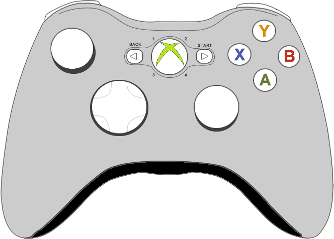 Xbox Controller PNG HD - Xbox HD PNG