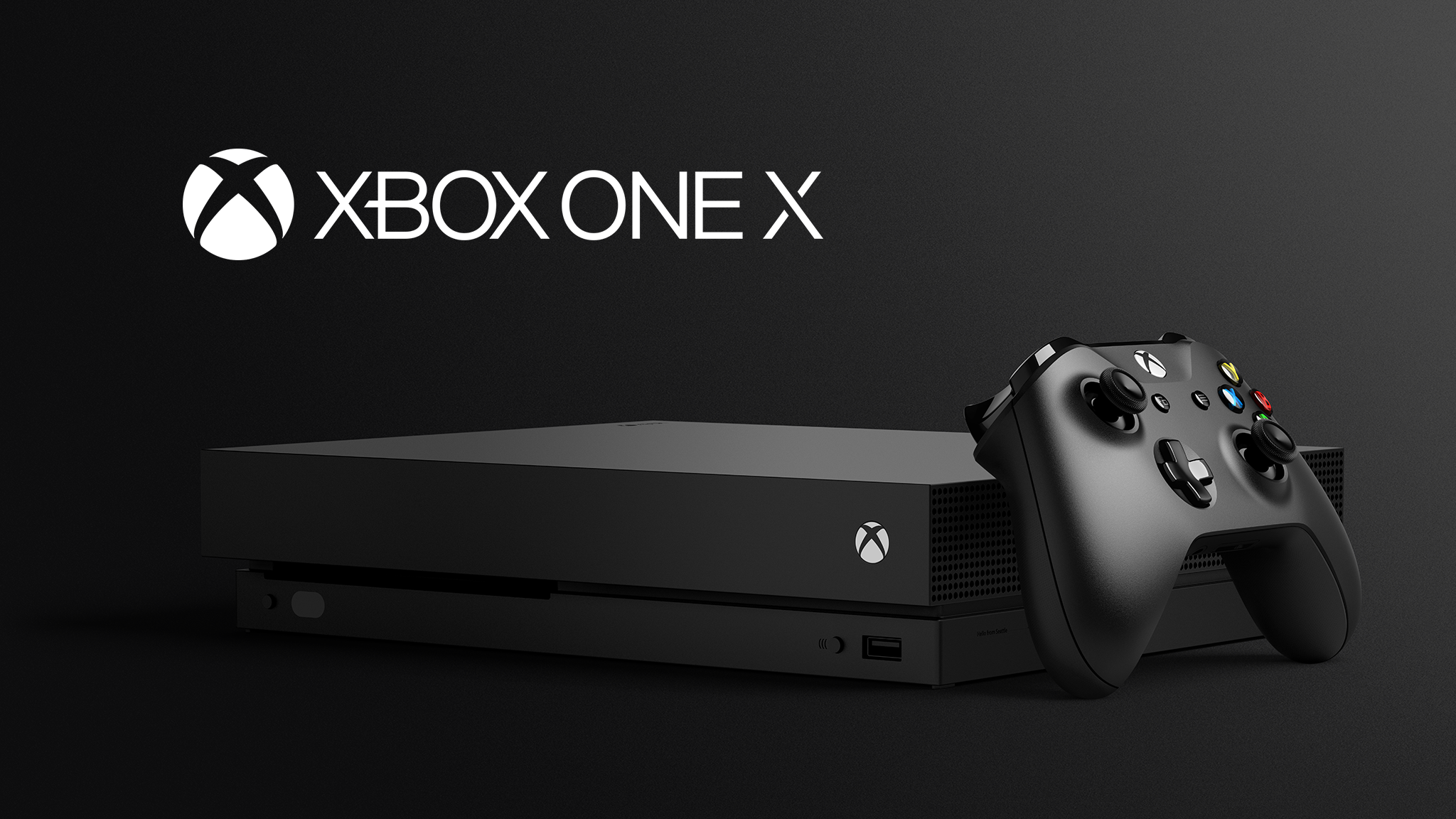 . PlusPng.com Xbox One X Tilted Black Background PlusPng.com  - Xbox HD PNG