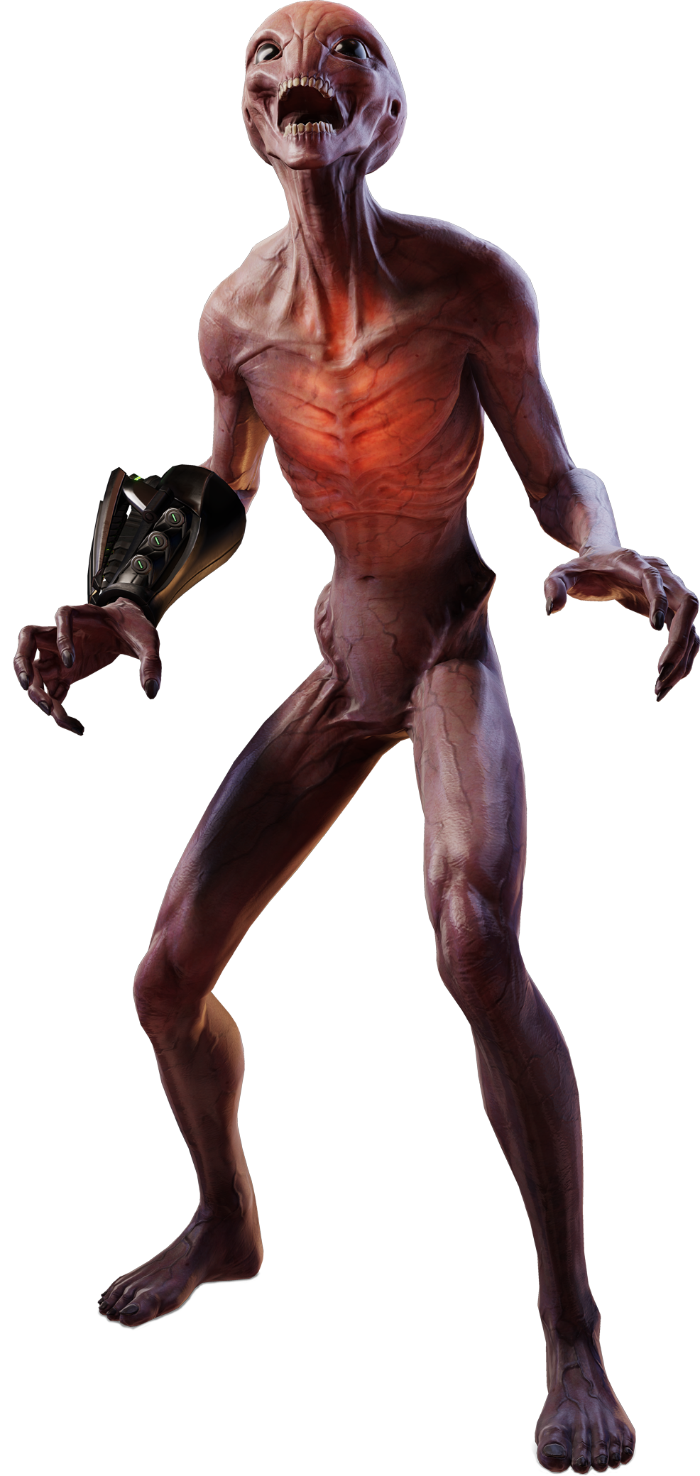 Sectoid@2x.png - Xcom PNG