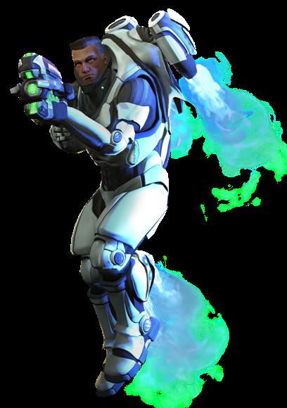 XCOM(EU) Soldier ArchangelArmor.png - Xcom PNG