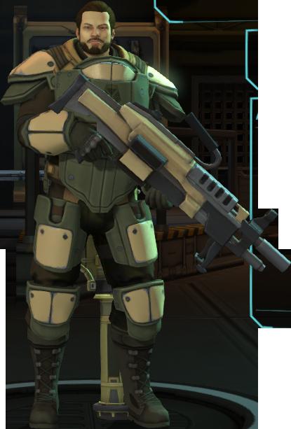 XCOM-EU Soldiers Class - Heavy.png - Xcom PNG