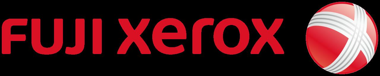 File:Fuji Xerox logo.svg - Xerox Logo PNG