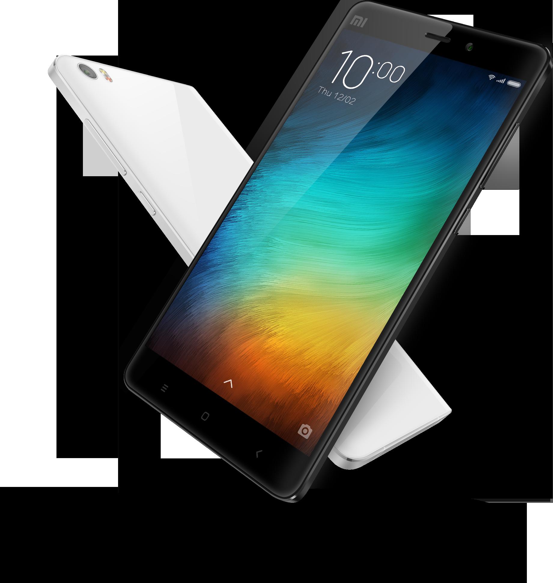 The Xiaomi Mi Note. Image credit: Xiaomi. - Xiaomi PNG