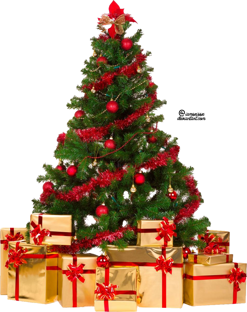 Xmas tree png 4 by iamszissz - Xmas Images Free PNG