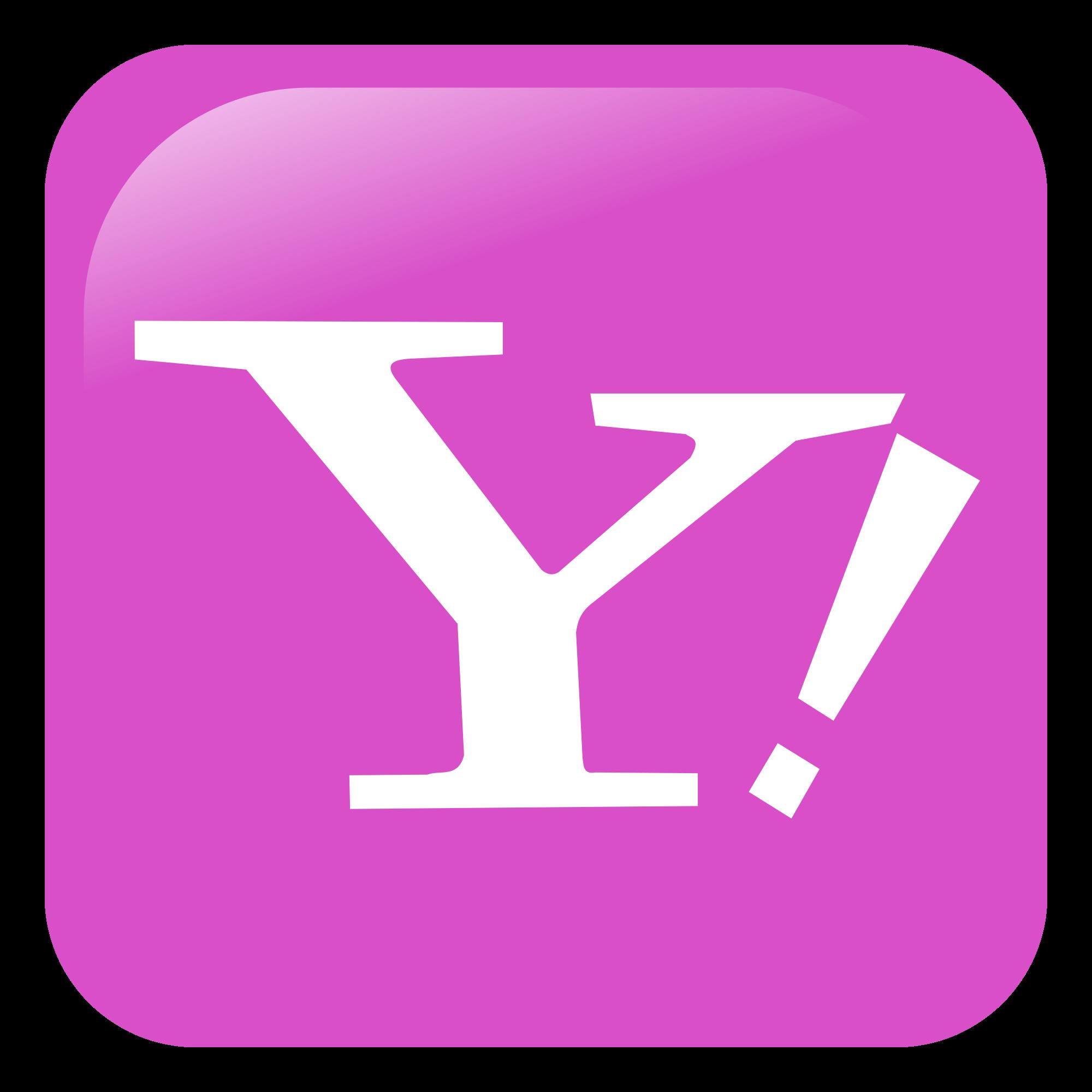 Yahoo Old Logo Vector PNG - 40109