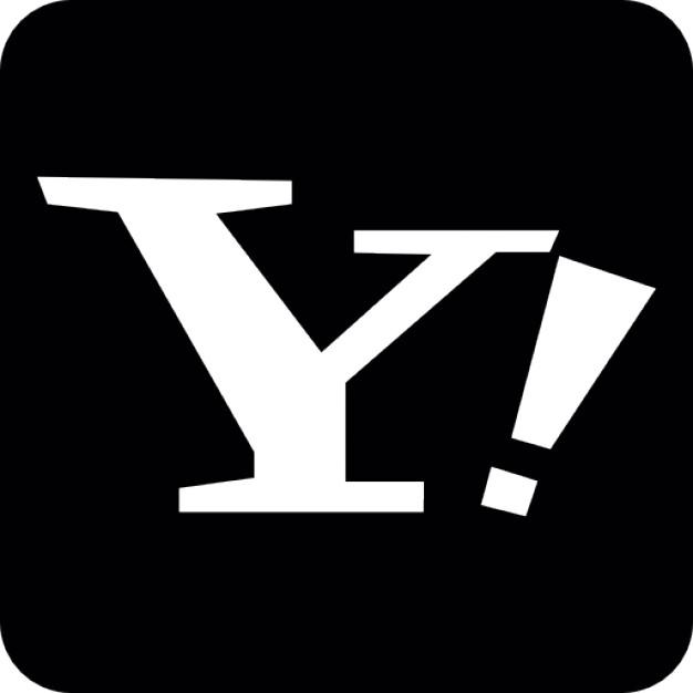 Yahoo Old Logo Vector PNG - 40100