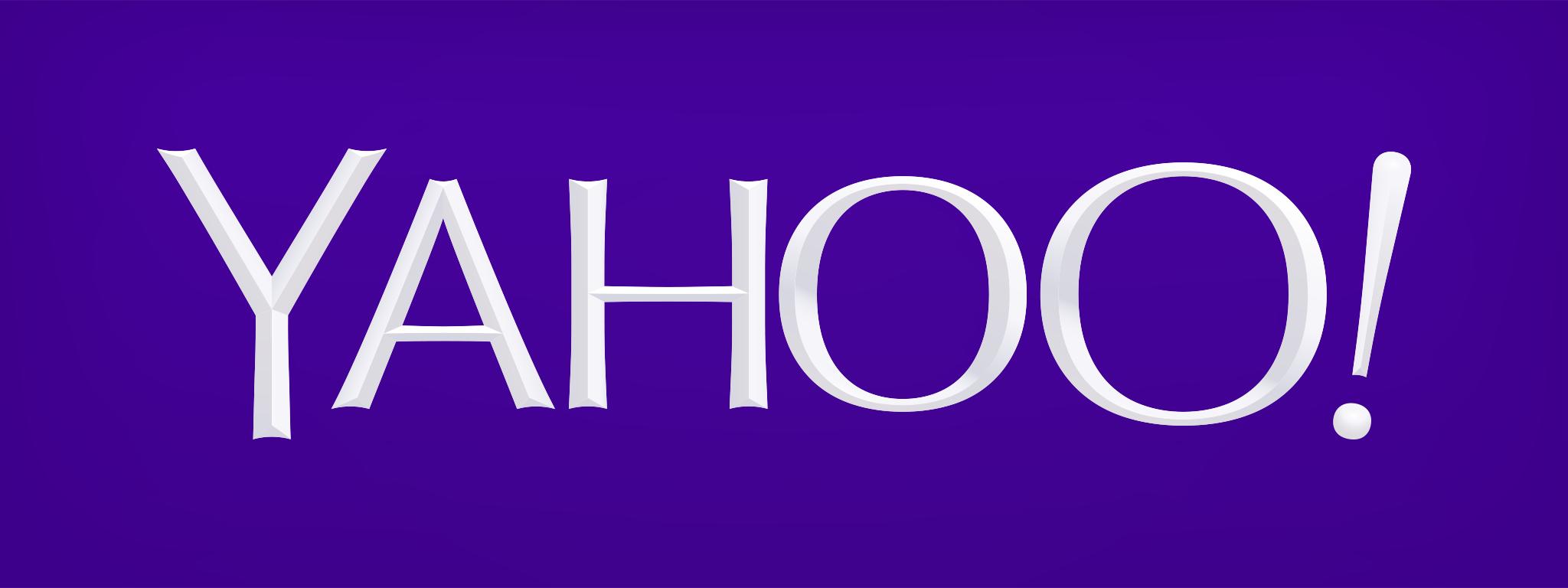 Yahoo_Logo_Purple.png - Yahoo Old Logo Vector PNG