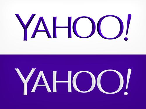 yahoo new logo - Yahoo Old Logo Vector PNG
