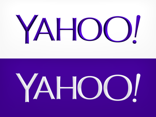Yahoo Old Logo Vector PNG - 40105