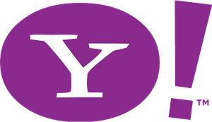 Yahoo Old Logo Vector PNG - 40106