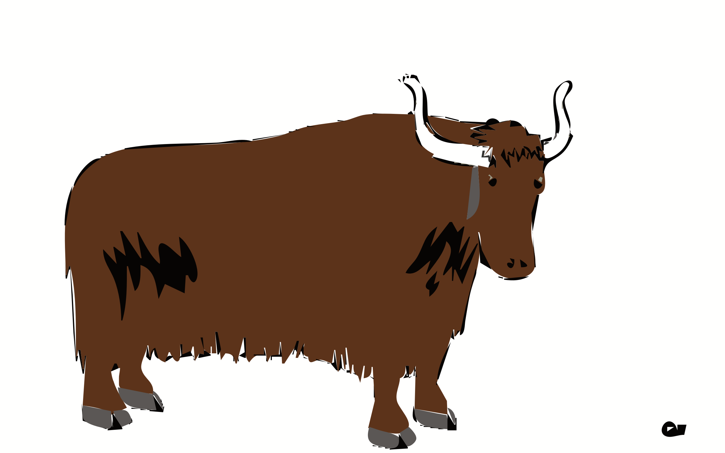 Yak Animal PNG