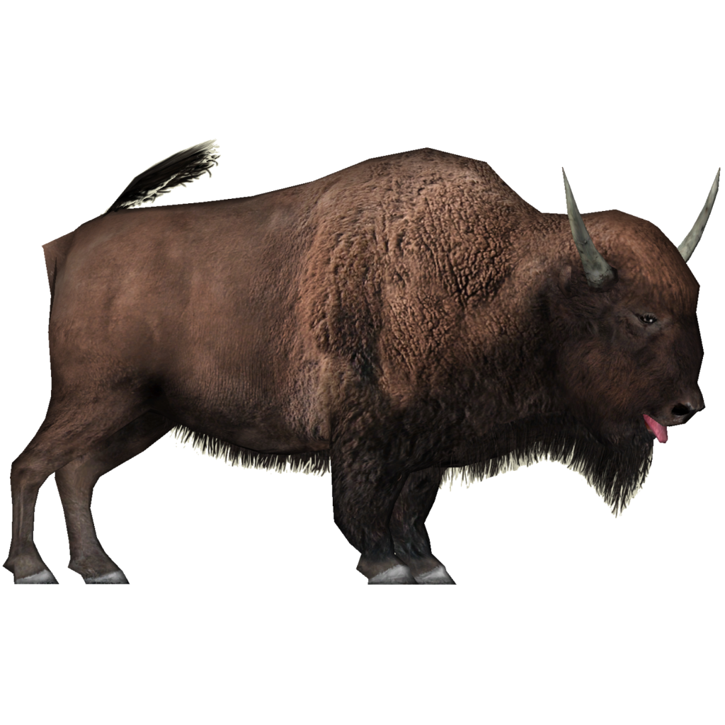 Image - Giant Bison (Wrangler97).png | ZT2 Download Library Wiki | FANDOM  powered by Wikia - Yak Animal PNG
