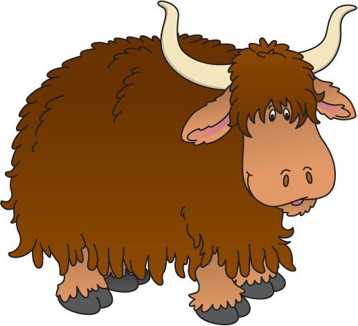 pin Animal clipart yak #2 - Yak Animal PNG