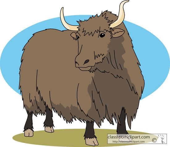 yak clip art #60 - Yak Animal PNG