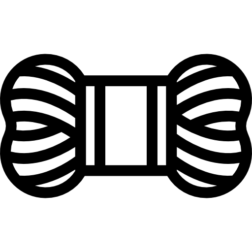 PNG SVG PlusPng.com  - Yarn PNG Black And White