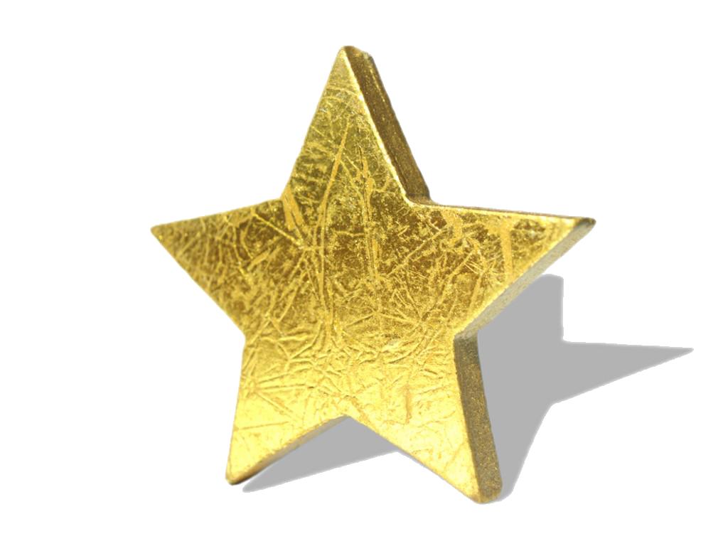 3D Gold Star PNG HD - Yellow Stars PNG HD