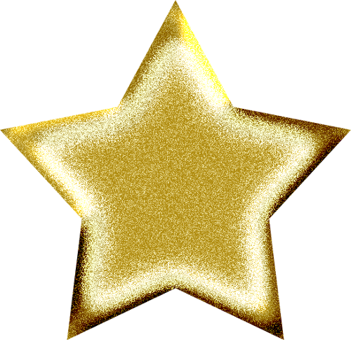 Christmas Gold Star PNG HD - Yellow Stars PNG HD
