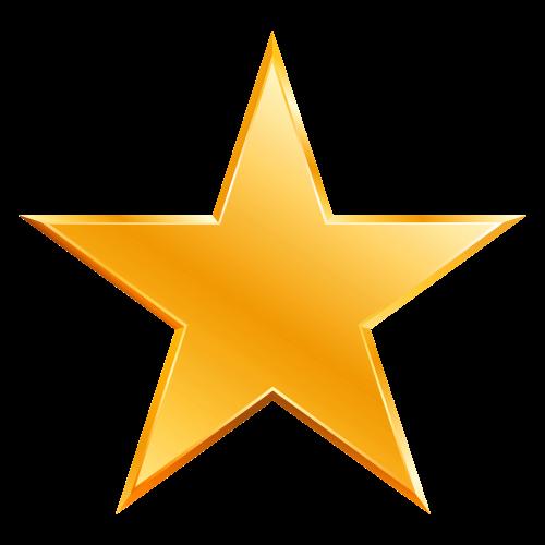 Star PNG HD - Yellow Stars PNG HD
