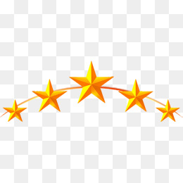 Yellow five-pointed star, Yellow, Five-pointed Star, Five PNG Image - Yellow Stars PNG HD