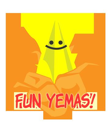 Fun Yemas! logo by reki-chan006 PlusPng.com  - Yema PNG