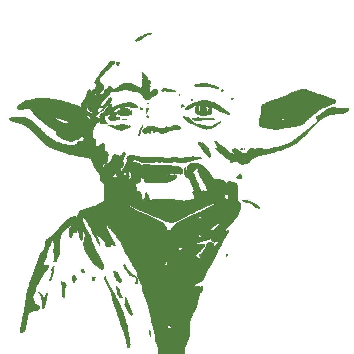 Yoda Head PNG - 40482