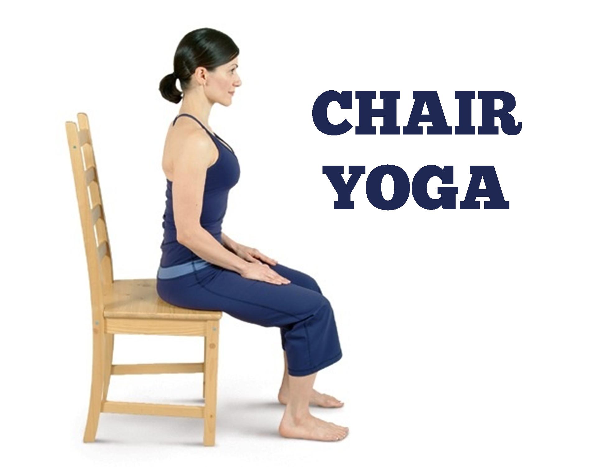 Chair Yoga @ 10:30 - Yoga Breathing PNG