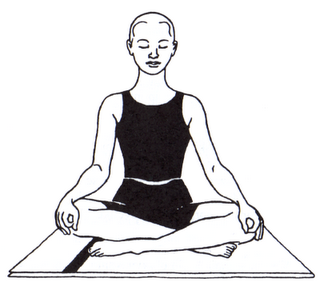 This Is Another Comforting Pose Focusing On Breath And Controlling Stress.  It Helps In Lung Function And Asthma. - Yoga Breathing PNG