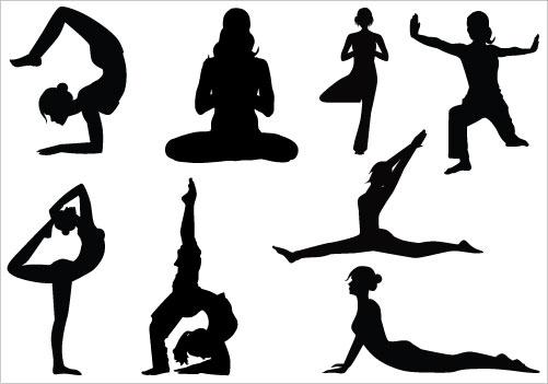 Yoga clip art vector yoga graphics image - Yoga HD PNG