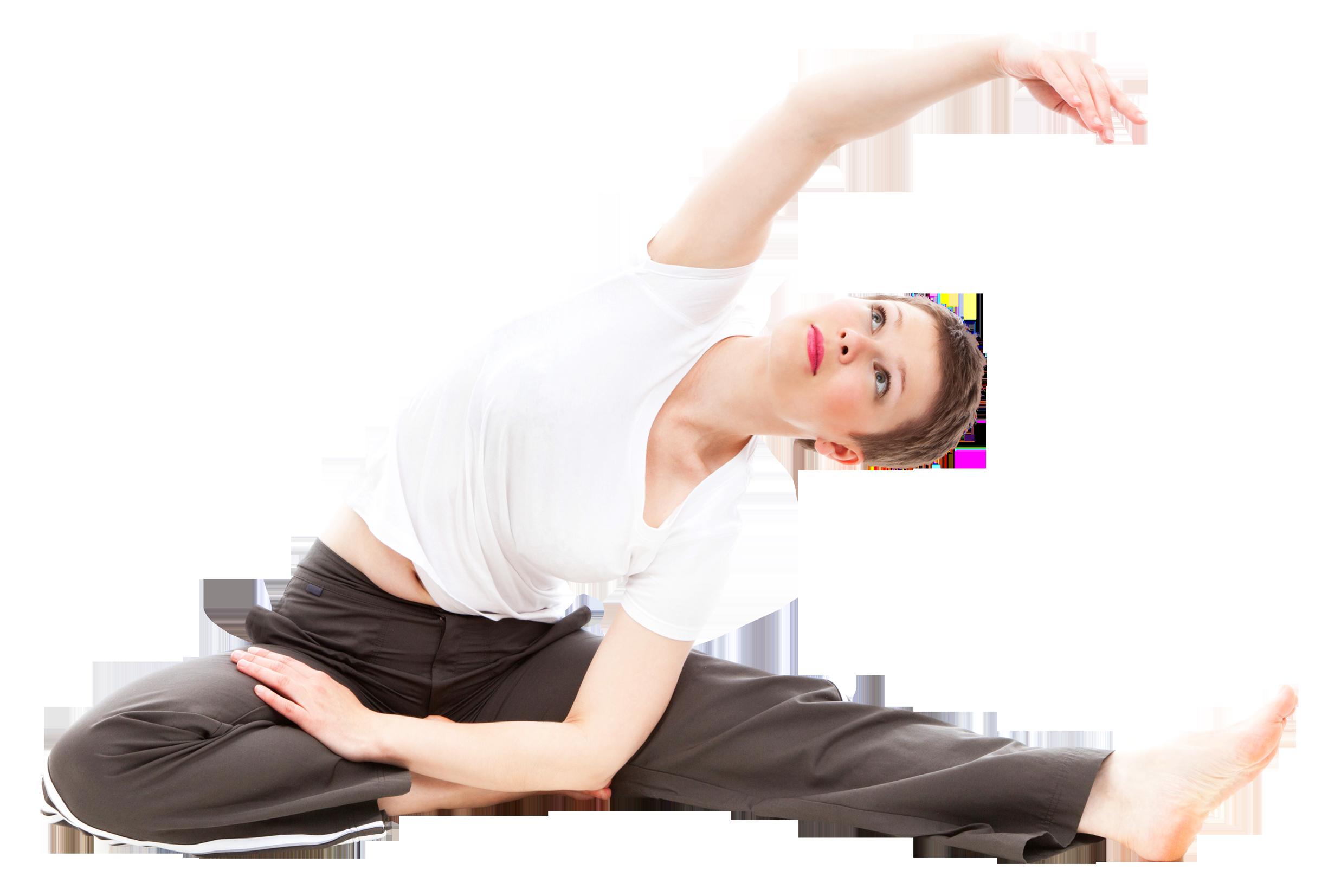 Happy Woman Doing Yoga PNG Image - Yoga PNG