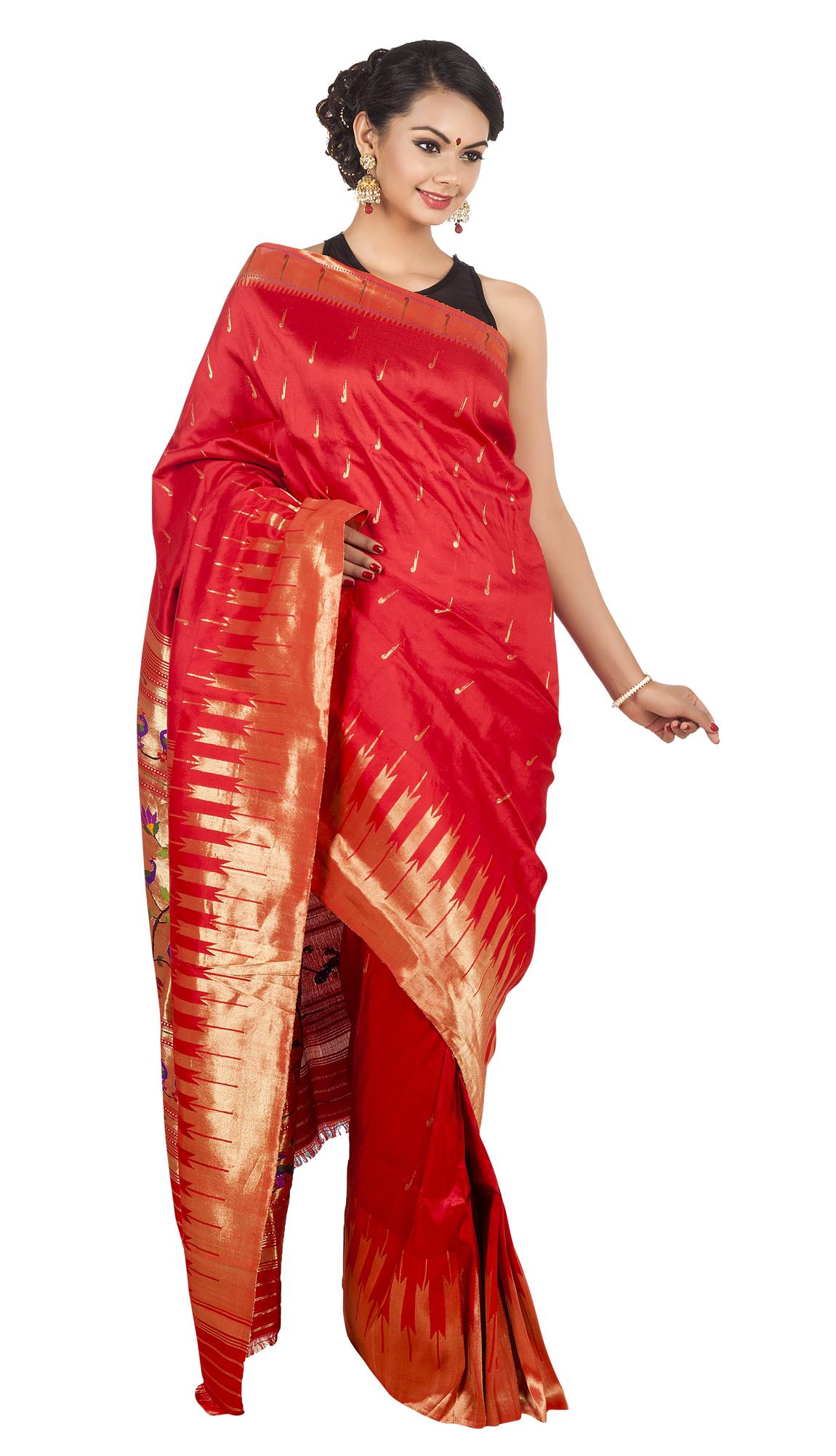 Wedding Saree PNG Transparent Image - Yoga PNG
