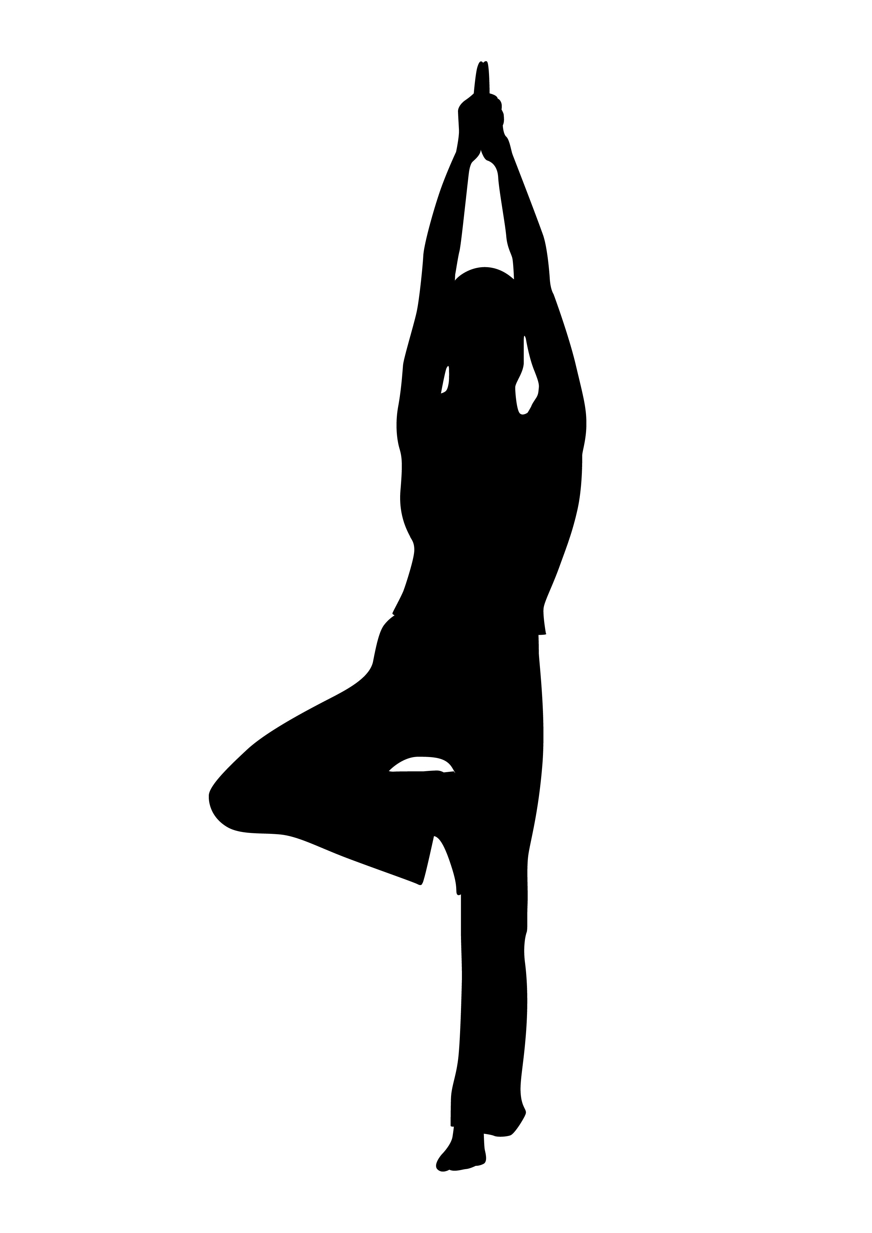 Senior Yoga Poses Clipart #1 - Yoga Poses PNG HD