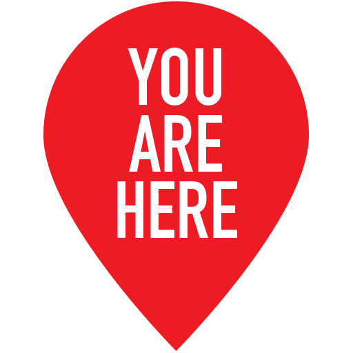 You Are Here Icon - You Are Here PNG HD