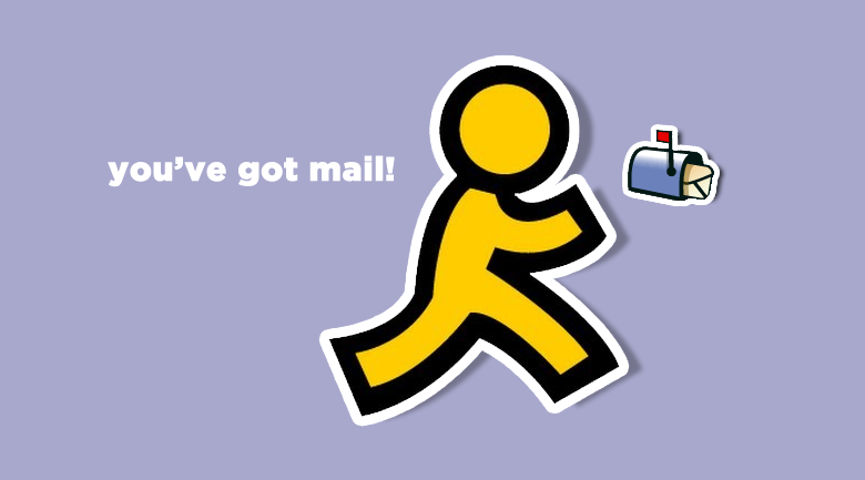 aol youu0027ve got mail - You Got Mail PNG