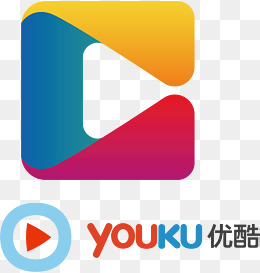 Youku LOGO, Youku, Cartoon, See Video Site PNG and Vector - Youku Vector PNG