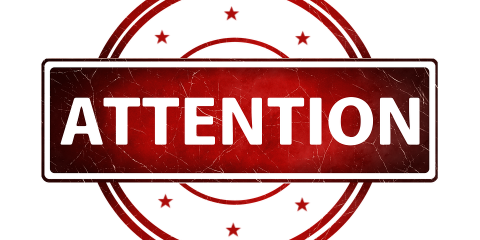 Your Attention Please PNG - 76700