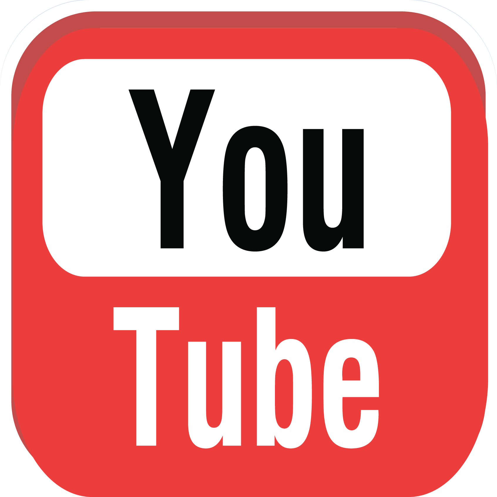 Youtube - Youtube HD PNG
