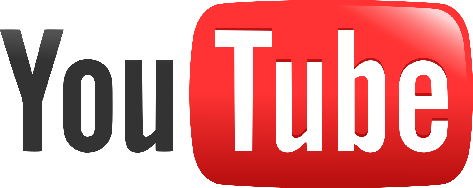 YouTube icon, full-color