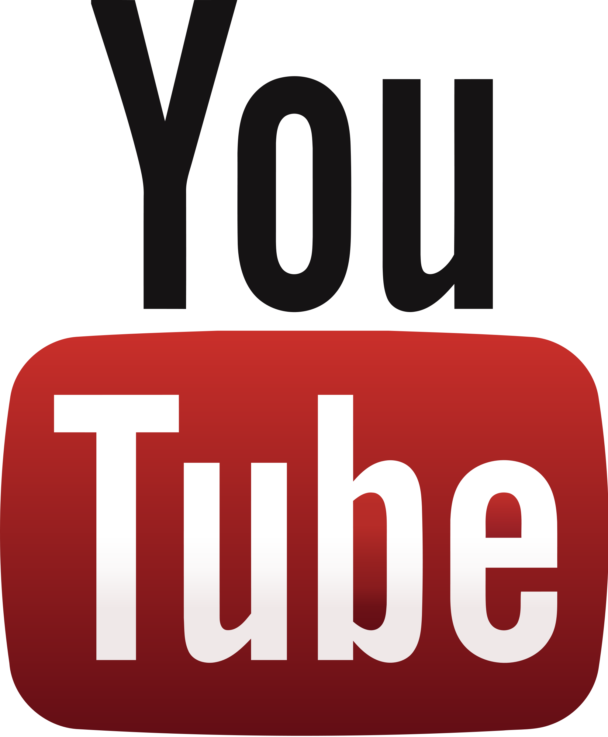 YouTube logo.png - Youtube PNG
