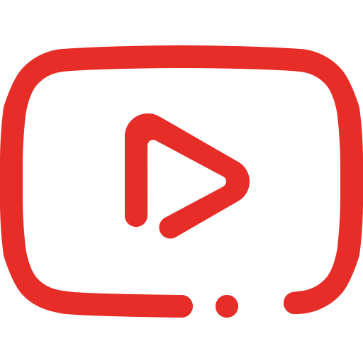 YouTube Play Button Transparent PNG - Youtube PNG