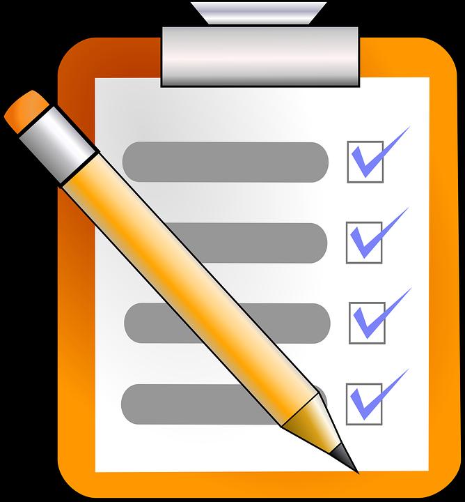 Lista Kontrolna, Zadanie, Do Zrobienia, Lista, Planu - Zadanie PNG