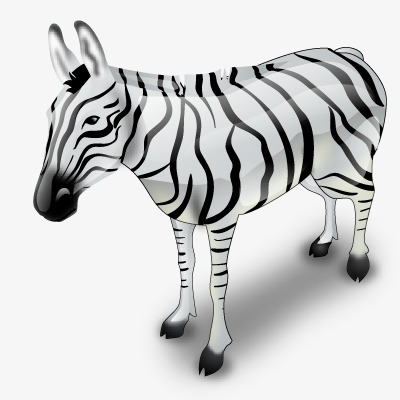 HD zebra pattern, Creative Zebra, Animal Material, Creative Cartoon Zebra  Free PNG Image - Zebra PNG HD