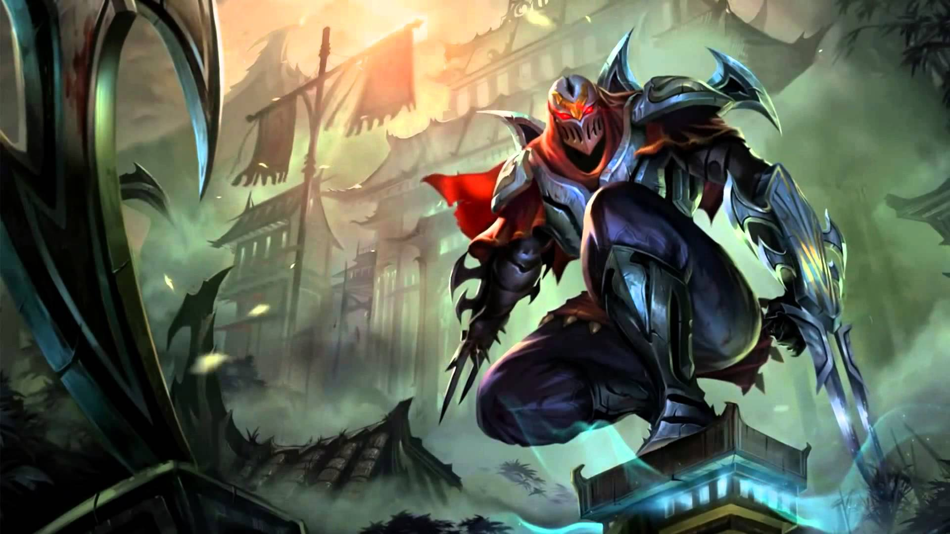 Inspirational League Of Legends Login themes Zed the Master for Shadows Hd - Zed The Master Of Shadows PNG