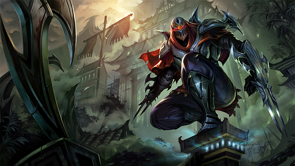 League of Legends latest champion revealed: Zed, the master of shadows |  PCGamesN - Zed The Master Of Shadows PNG