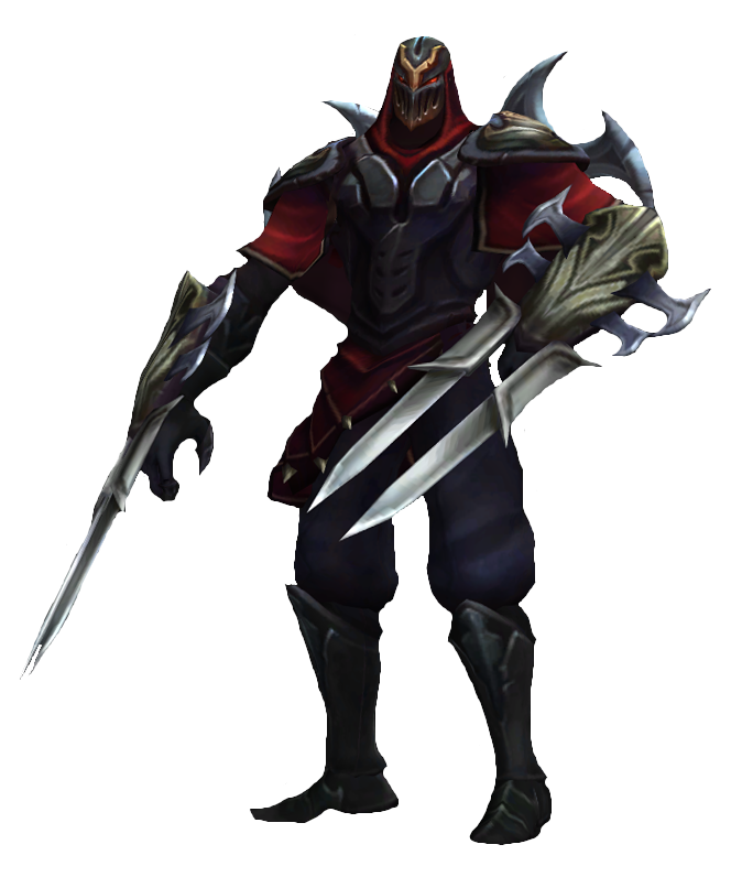 Zed - Zed The Master Of Shadows PNG