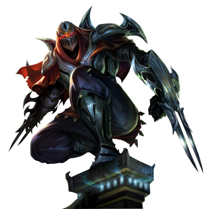 Zed High-Quality Png PNG Image - Zed The Master Of Shadows PNG