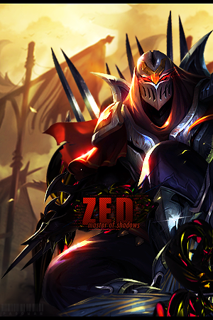 Zed ~ Master of Shadows by Padowan73 PlusPng.com  - Zed The Master Of Shadows PNG