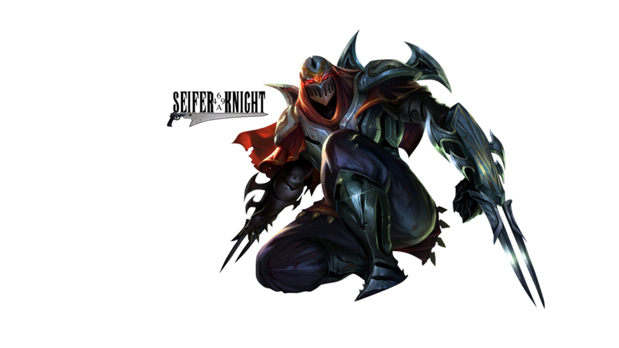 Zed, Master of Shadows by SeiferKnight PlusPng.com  - Zed The Master Of Shadows PNG