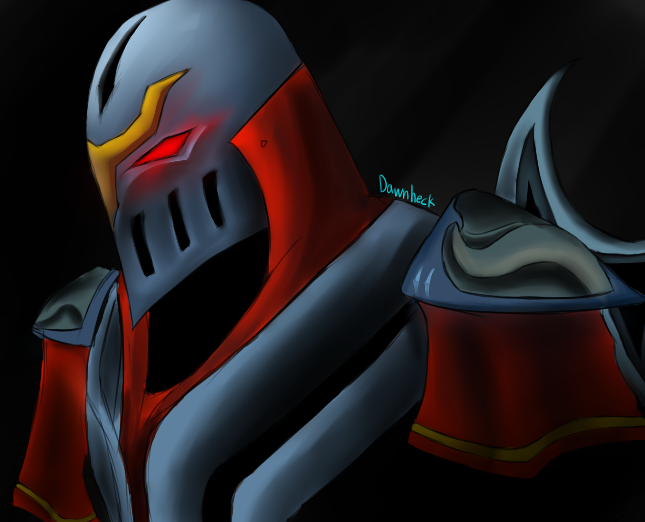 Zed, The Master of Shadows by Dawnheck PlusPng.com  - Zed The Master Of Shadows PNG
